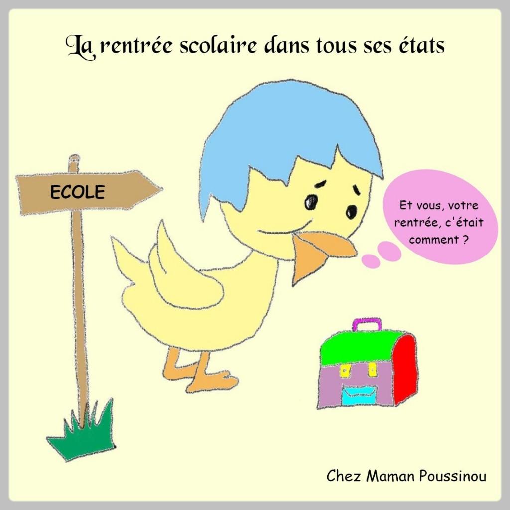 Banni re rentr e scolaire maman poussinou blog - La rentree des mamans ...