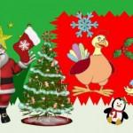 Mon blog a revêtu ses habits de Noël…