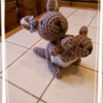 DIY un doudou au crochet – Défi home made 2012 – janvier
