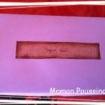 Un cadeau «hand made» surprise – le mien pour @lly02