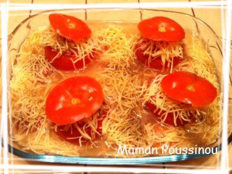 Mon p ch mignon les tomates farcies maman poussinou - Quand repiquer les tomates en pleine terre ...