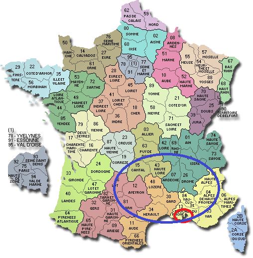 Istres France  city photo : carte france departements 2 Maman Poussinou | blog maman famille ...