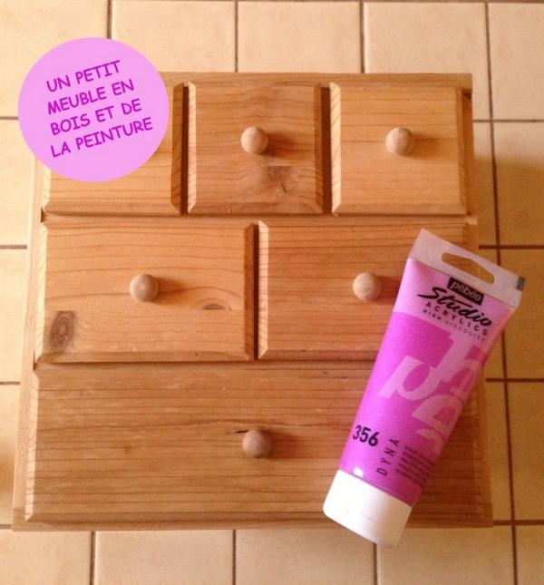 Diy customiser un petit meuble maman poussinou blog - Customiser un meuble ...