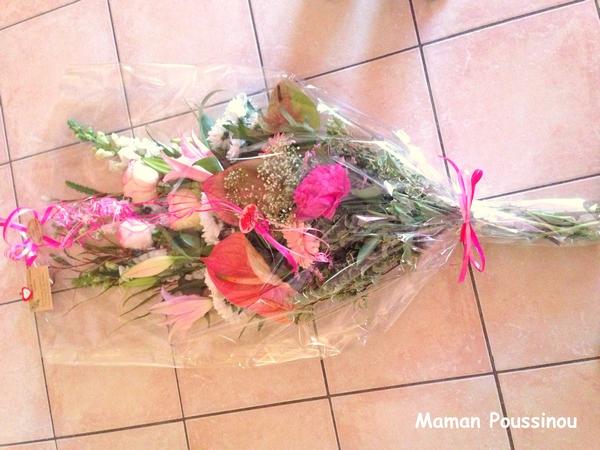 immense bouquet de fleurs