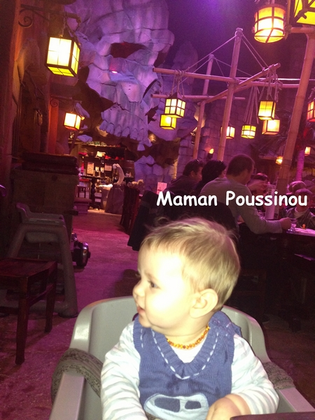 Poussinet curieux