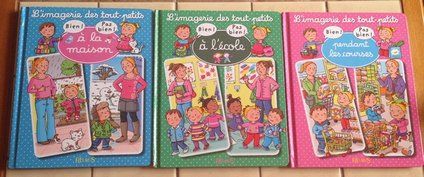 Bien / Pas bien dans Limagerie des tout-petits  Livres pour enfants