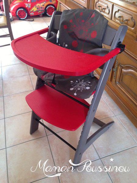 chaise haute évolutive badabulle