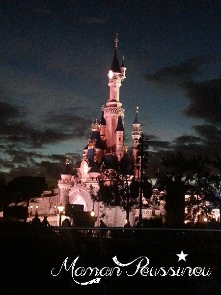 chateau belle au bois dormant disneyland