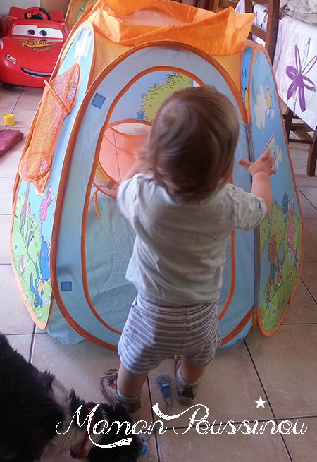 tente pop-up enfant