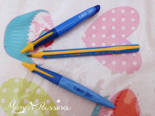Concours : 1 kit de 3 stylos d'apprentissage spécial kids à gagner Motricité fine, écriture, quand l'apprentissage est difficile pour les petites mains