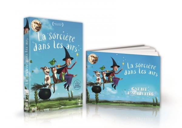 SIMU CAHIER +DVD LA SORCIERE WEB