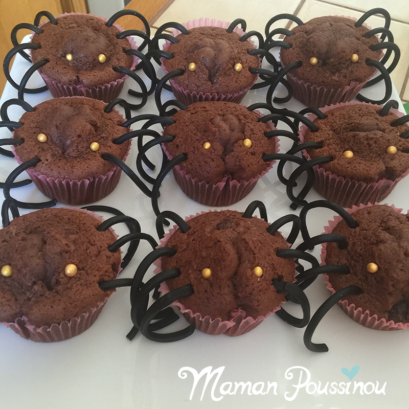 muffins-araignee-halloween