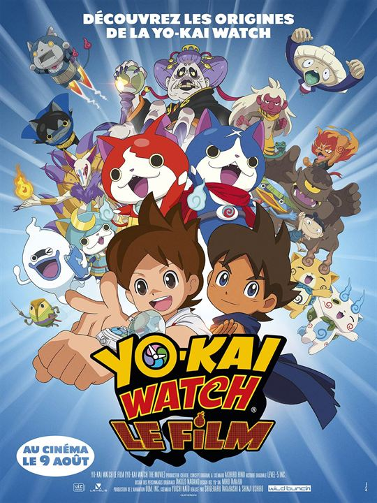 affiche yo-kai watch le film