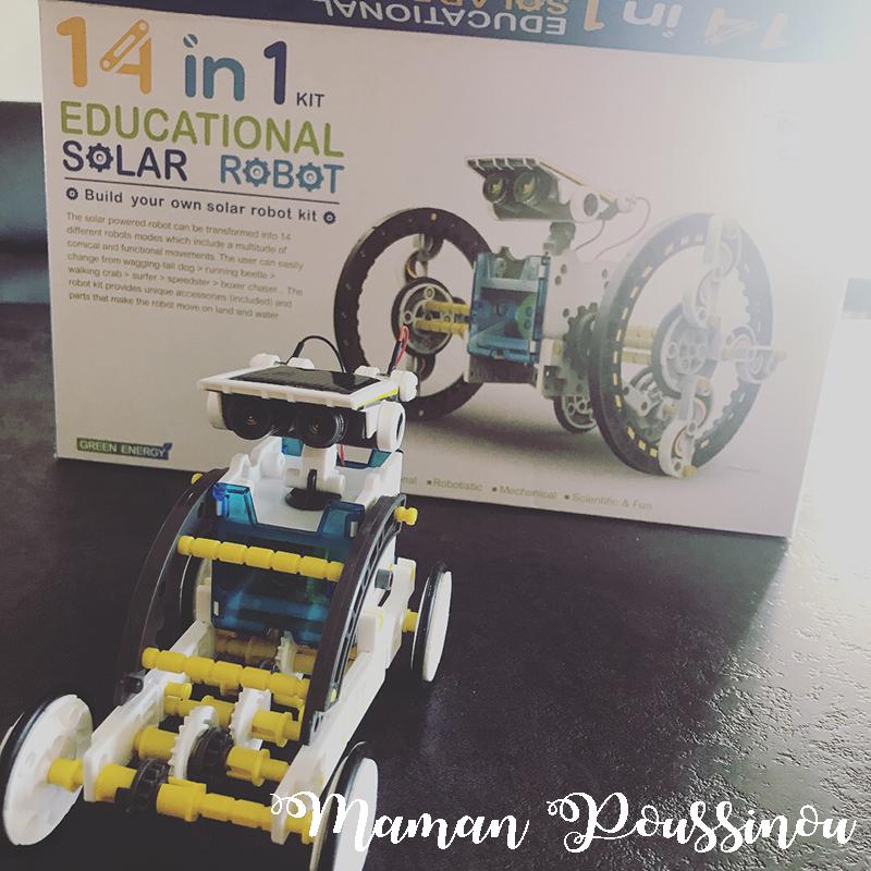 Un robot solaire à construire