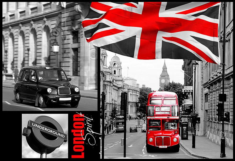poster Londres XXL | Chantemur