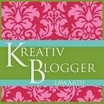 Tag Kreativ Blogger Award