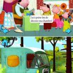 Un jour, Poussin rencontra 3 Petits Cochons et une Coccinelle