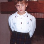 La rentrée scolaire d'@lly02 quand elle était petite…