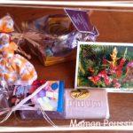 Un cadeau coloré, un cadeau qui sent bon, du soleil dans ma maison !!!