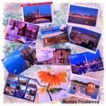 Cet été j'ai reçu plein de cartes postales