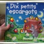 Apprendre à compter avec «Dix petits escargots»