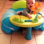 À quoi ça peut bien jouer un bébé de presque 6 mois ?