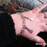 Mes enfants sur mon bracelet – Cadeau post naissance