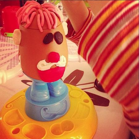 pâte à modeler Mr Patate