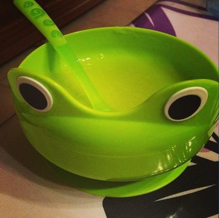 repas vert pour bébé