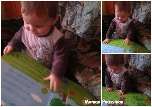 bébé 8 mois aime les livres