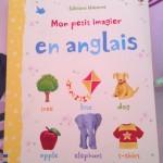 Poussin veut apprendre l'anglais – Mon petit imagier en anglais – Livre pour enfants