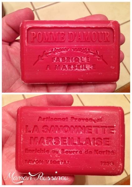 savon de Marseille Pomme d'amour