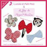 Des jolies barrettes pour les Poussinettes (et leurs mamans) – Cadeau dedans