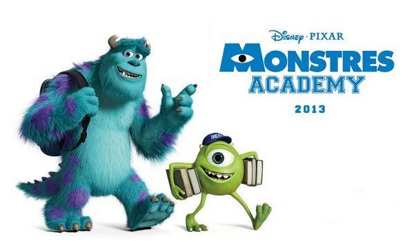 monstres academy bob et sully