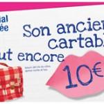 Son ancien cartable vaut encore 10€ – Opération « Cartable solidaire » Carrefour – Sponso
