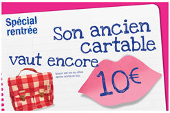 cartable carrefour