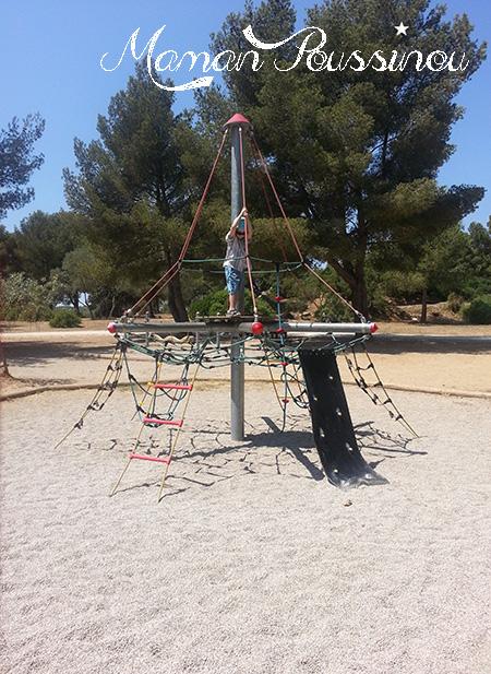 Aire de jeux parc de Figuerolles