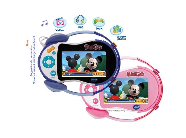 Les petits aussi vont avoir leur lecteur multimédia : KidiGo de VTECH
