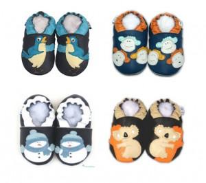 Leurs petits pieds seront au chaud cet hiver grâce à Papillousses – Cadeau dedans