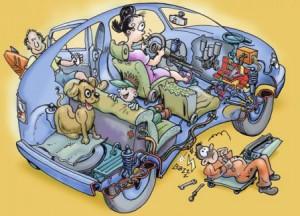 Partir en vacances (en famille) – Conseils pratiques pour rouler zen