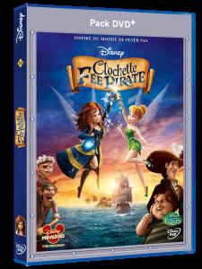 Clochette et la fée pirate en DVD – Cadeaux dedans