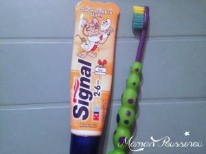 Leur apprendre à se brosser les dents