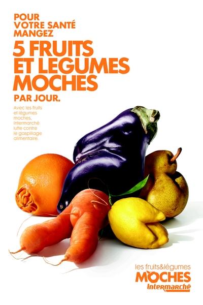 Non au gaspillage ! Oui aux fruits et légumes moches !