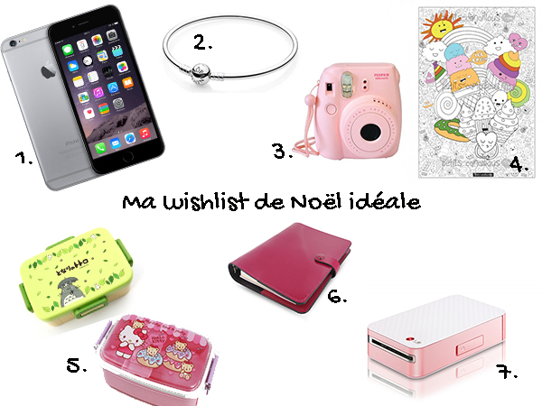 ♡ Ma wishlist de Noël idéale (très geek et girly) ♡