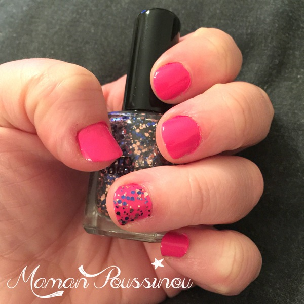 Mes ongles rose girly – Montre-moi tes ongles #1