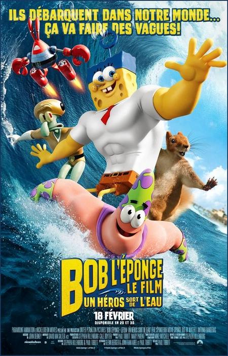 Bob l'éponge le film – Sortie ciné