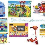 Des idées de cadeaux d'anniversaire pour un enfant de 3 ans