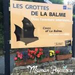 Visite des grottes de la Balme en Isère, Balmy nous voilà !!