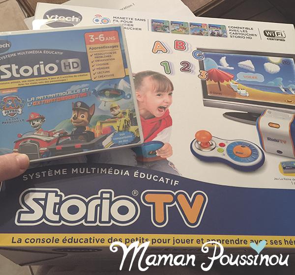 Une console de jeux accessible dès 3 ans – Storio TV de Vtech