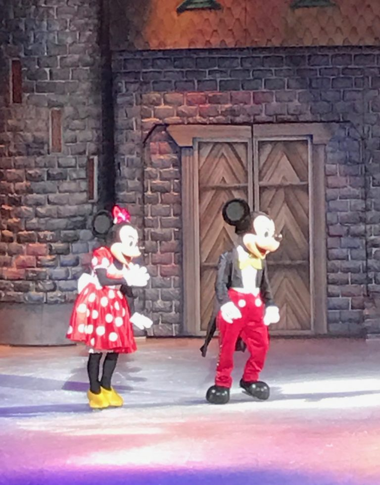 Disney on Ice ou la magie sur glace